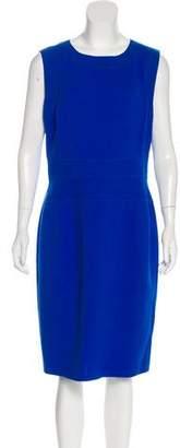 Oscar de la Renta Wool Cutout Dress w/ Tags