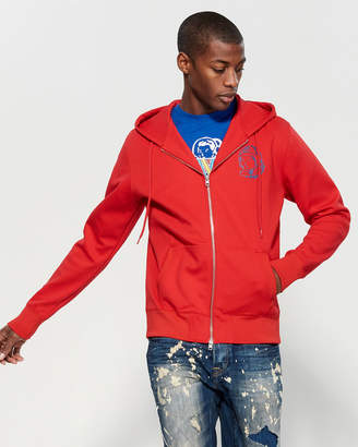 Billionaire Boys Club BB Zip Logo Hoodie