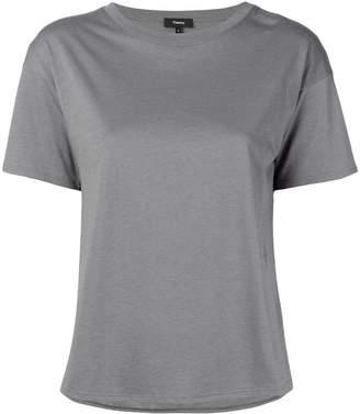 Theory silk panel T-shirt