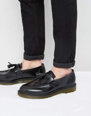 Dr. Martens Adrian Tassel Loafers In Black