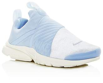 Nike Girls' Presto Extreme Velvet Slip-On Sneakers - Big Kid