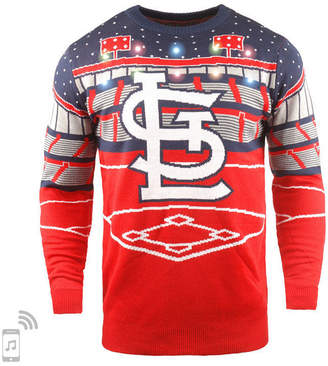 Forever Collectibles Men St. Louis Cardinals Bluetooth Ugly Sweater