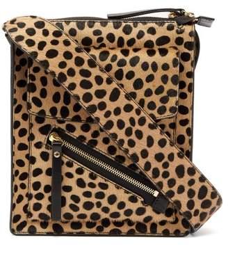 Joseph - Mortimer Leopard Print Calf Hair Shoulder Bag - Womens - Leopard