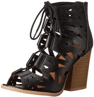 Qupid Women's Barnes 15A Gladiator Sandal