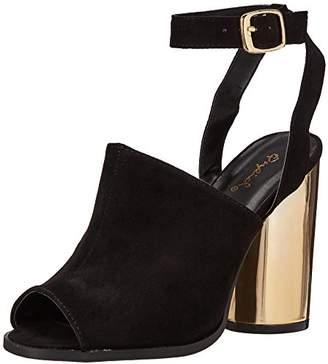 Qupid Women's Bondi-02a Heeled Sandal