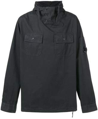 C.P. Company patch pocket hooded pullover