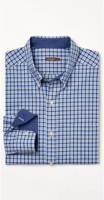 J.Mclaughlin Carnegie Classic Fit Shirt in Mini Plaid