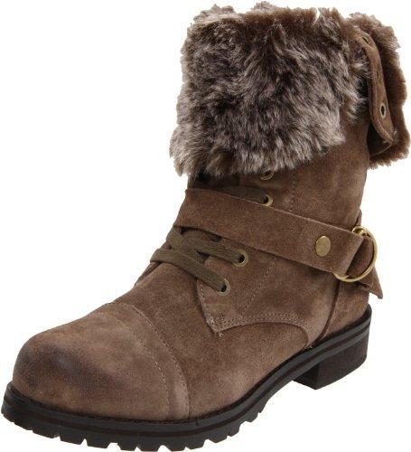 Kelsi Dagger Women's Gritina Faux Fur Flat Boot