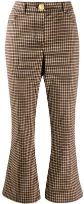 Derek Lam 10 Crosby high-waisted kick flare trousers