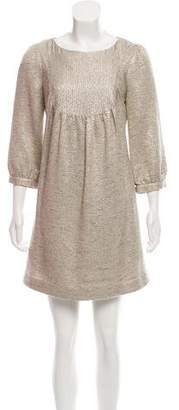 Loeffler Randall Tweed Mini Dress