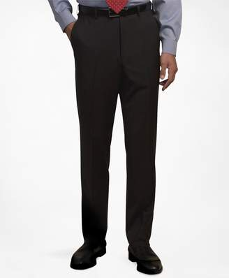 Brooks Brothers Plain-Front Suiting Essential Trousers