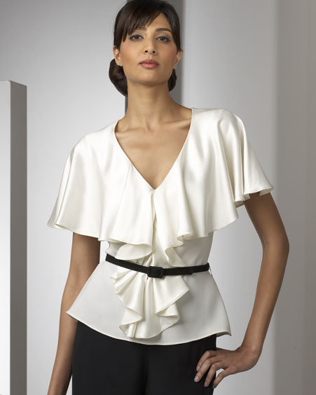 Chetta B Belted Blouse