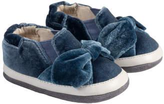 Robeez Bella Blue Velvet Sneaker