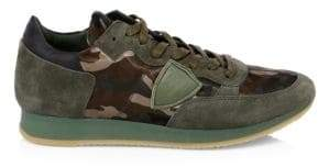 Philippe Model Tropez Camo Runners