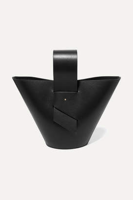 Carolina Santo Domingo - Amphora Leather Tote - Black