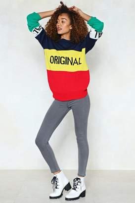 Nasty Gal High Waisted Two Pocket Stretch Skinny Jean