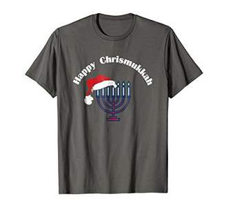 Happy Chrismukkah Celebrate Christmas And Hanukkah T-Shirt