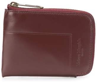 Maison Margiela small zip around wallet