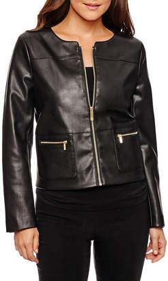 Liz Claiborne Cropped Jacket