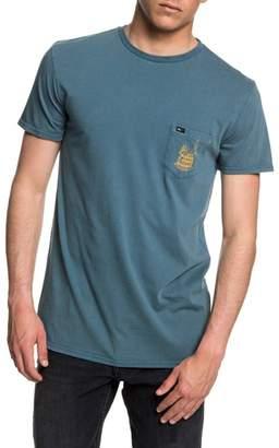 Quiksilver Gettin' Barreled Graphic Pocket T-Shirt