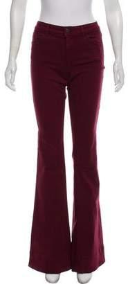 Alice + Olivia Mid-Rise Jeans