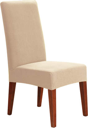 Sure Fit Ivory Stretch Pearson Dining Chair Cover
