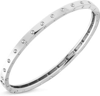 Roberto Coin Pois Moi Oval Bangle Bracelet