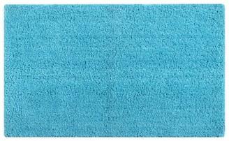 "BEIGE Better Trends Micro Plush 17"" x 24"" Bath Rug, Teal"