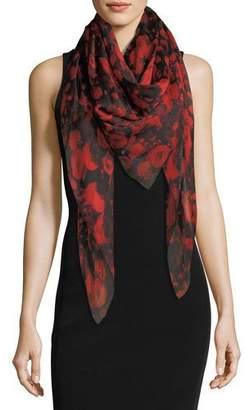Givenchy Roses Chiffon Shawl