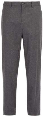 A.P.C. Gregoire Wool Blend Trousers - Mens - Grey