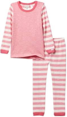 Coccoli Striped Sleeve Pajama (Toddler, Little Kids, & Big Kids)