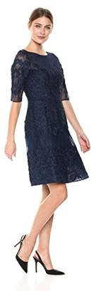 Emma Street Women's Lace fit and Flair Dress
