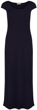 Dorothy Perkins Navy short sleeve maxi dress