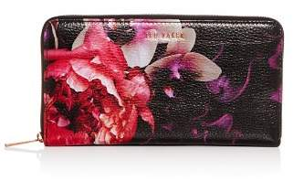 Ted Baker Splendour Floral Leather Continental Wallet