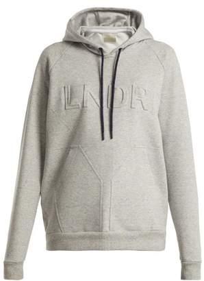 Lndr - College Press Hooded Sweatshirt - Womens - Grey