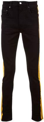 Amiri side stripe jeans