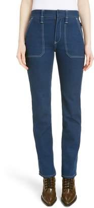 Chloé Slim Straight Leg Jeans