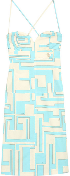 Emilio Pucci Torre strapless dress