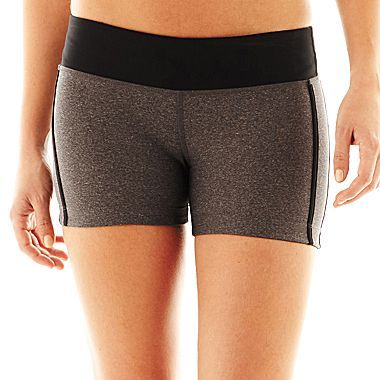 JCPenney XersionTM Fitted Colorblock Shorts