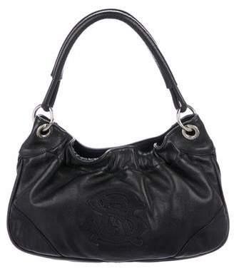 Sonia Rykiel Grained Leather Shoulder Bag