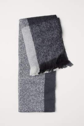 H&M Color-block Scarf - Black