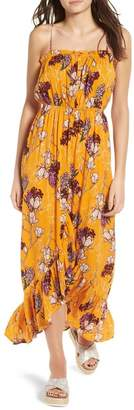 One Clothing Floral Tulip Maxi Dress
