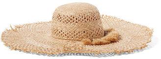 Ralph Lauren Woven Straw Sun Hat $88 thestylecure.com