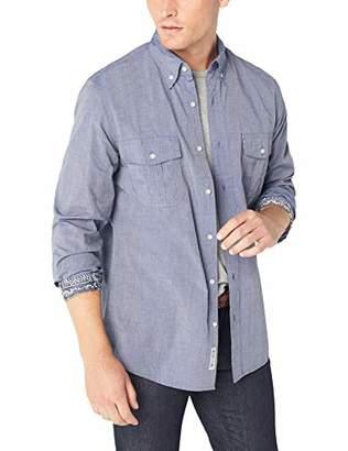 Reyn Spooner Men's END YD L/S Flap Pocket