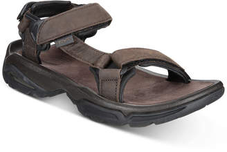 6cf7f8b9d5327 Teva Men s Terra Fi 4 Water-Resistant Leather Sandals