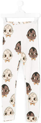 Mini Rodini babies print leggings