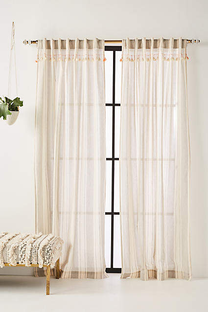 Tasseled Ginny Curtain