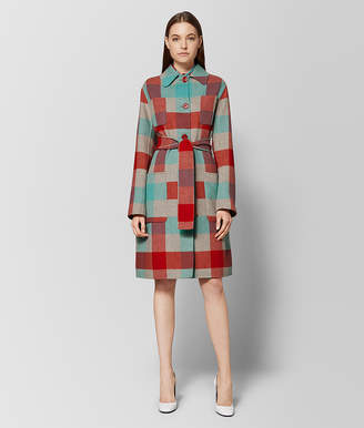 Bottega Veneta MULTICOLOR WOOL COAT