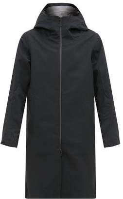 Descente Allterrain - Aero Shell Hooded Coat - Mens - Black