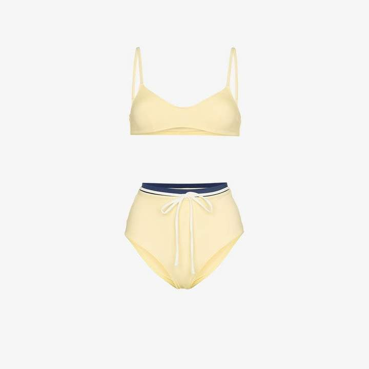 Solid And Striped Cora bikini top and high-waist set